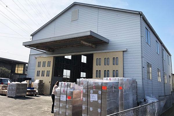 第一物流センター倉庫(外観)